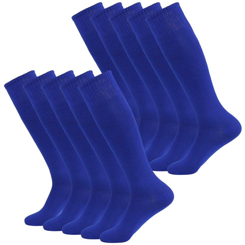 Fasoar SOCKSHOSIERY メンズ B075MV8WKF 10 Pairs-blue 10 Pairs-blue