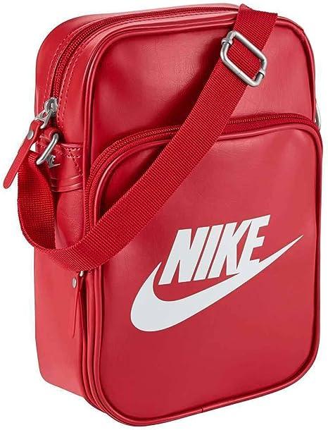 Nike Borsa A Spalla Si Small Items II RossoBianco: Amazon