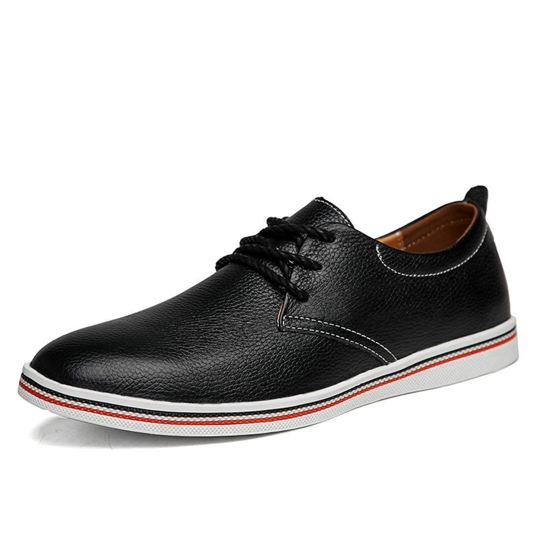 Jungen Herren Oxfords Style Schwarz Fashion Work Turnschuhe UK 10.5 (Farbe   -, Größe   -)