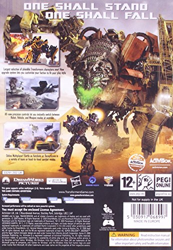 The 8 best transformers 2 game for pc