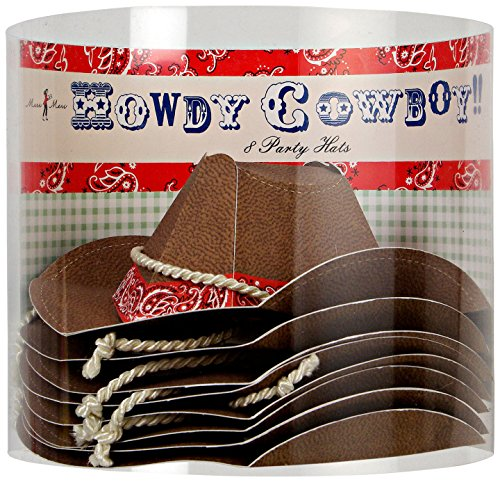 Meri Howdy Cowboy Party Hat product image