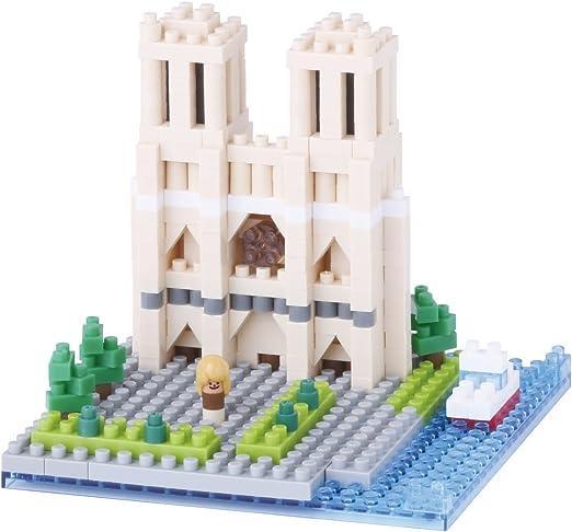 nanoblock NAN-NBH093 - Catedral de Notre Dame: Amazon.es: Juguetes ...