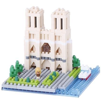 Amazon Nanoblock Notre Dame Cathedral Toys Games