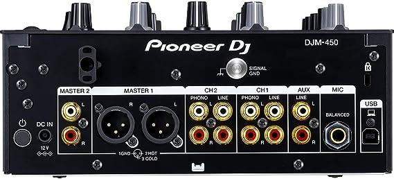 Pioneer DJM-450 Mesa de Mezclas 2 Canales: Amazon.es: Electrónica