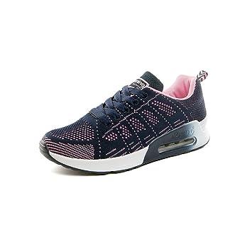 Freizeitschuhe Damen Schuhe TOP Sneakers Sportschuhe 6132 Blau 39