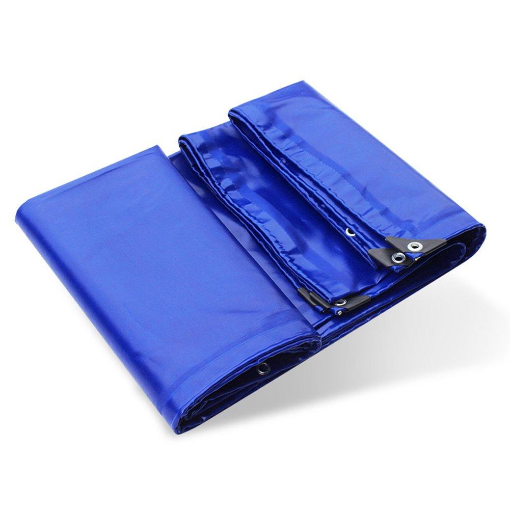 ふわふわ 雨布 防水布 ゴム引きキャンバス アウトドア 自動車 シェード布 防水 日焼け止め 引き裂きに抵抗する 厚い ポリエステル PVC 青,3 * 4M B07FYLY7KN 3*4m  3*4m