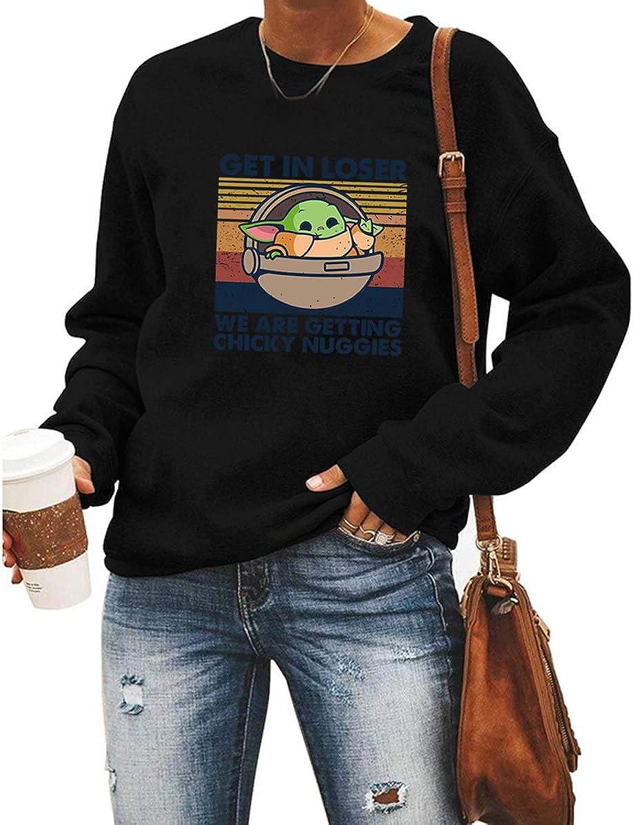 Get in Loser Graphic Sweatshirt for Women