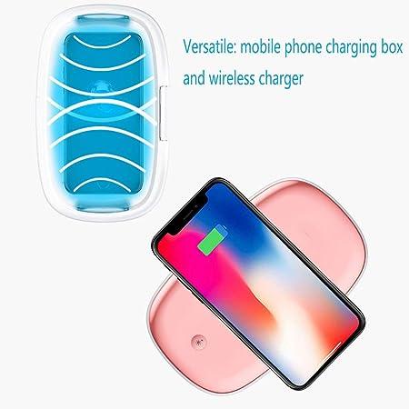 WANG-L Smartphone Esterilizador UV Light Ozone QI Cargador ...