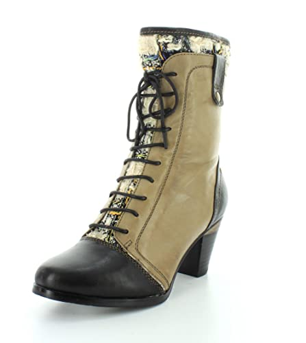 L'artiste By Spring Step Women's Quintus Boot, Taupe Multi, 36 EU/