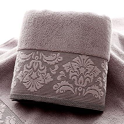YBFQ Toallas de baño de algodón puro adulto encantador Envolvió Pecho bordados de dibujos animados de ...