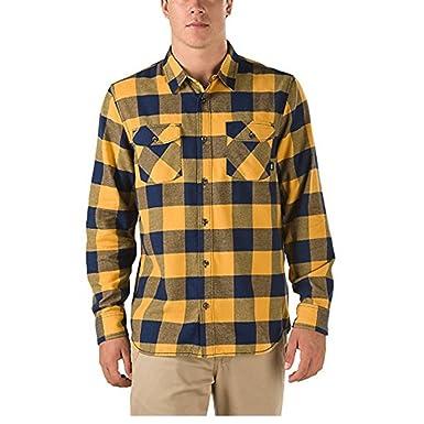 e218f53c71b Vans Men s Hixon Flannel Shirt (Medium