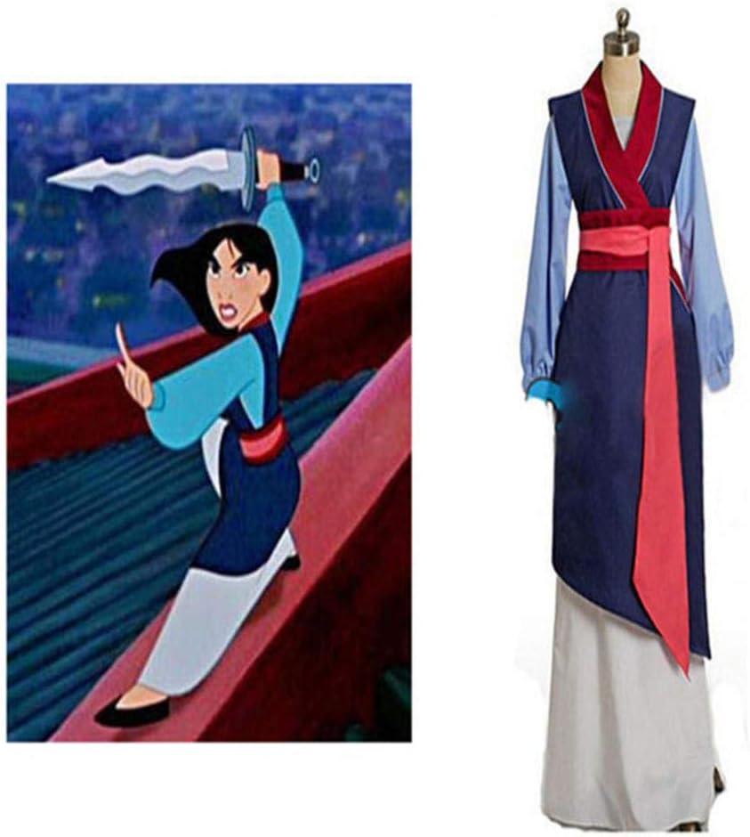 Hua mulan cosplay vestido mulan princess dress alta calidad mulan ...