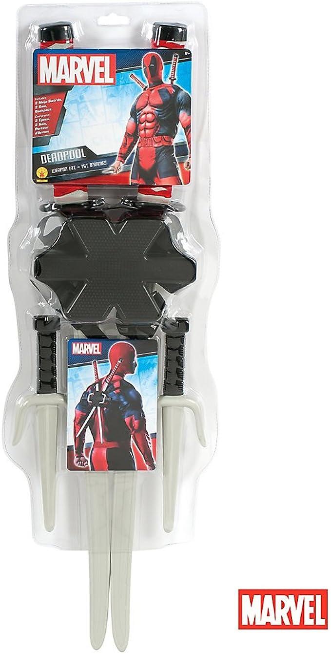 Amazon.com: Rubies - Kit de armas de Deadpool: Sports ...