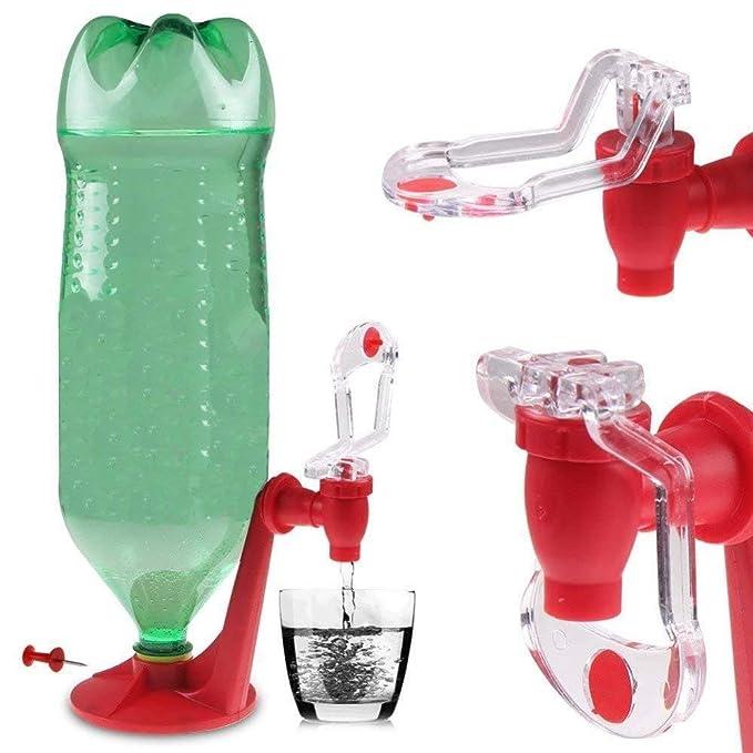 QSJi Cola Bebida Fuentes de agua potable, Hogar creativo Cola para beber Fuente Bar Utensilios de cocina Máquinas de bebidas Cola Cerveza Interruptor de ...