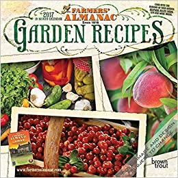 Book Farmers' Almanac Garden Recipes 2017 Calendar