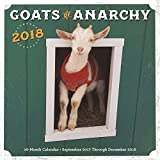 Goats of Anarchy 2018: 16 Month Calendar Includes