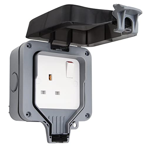 Schneider Gwpiu3020 Weatherproof External Twin Switch