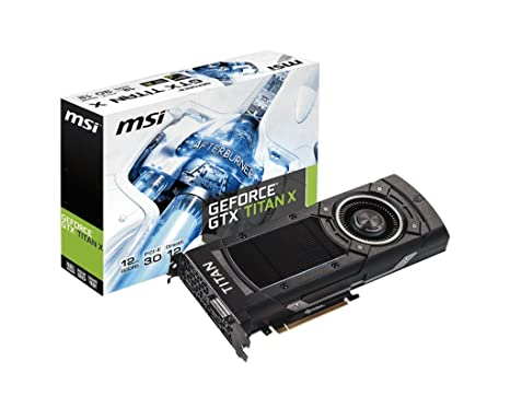 Amazon.com: MSI NVidia Titan X 1000 MHz (Boost 1075 MHz ...