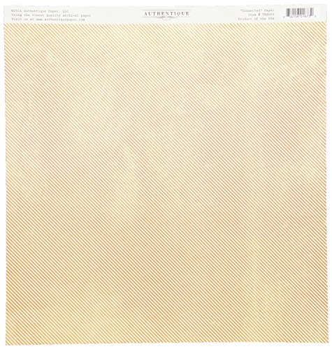 Authentique Paper Treasure Double-Sided Cardstock, 12 x 12-Inch, Connected Tulip Tablecloth/Thin Stripe