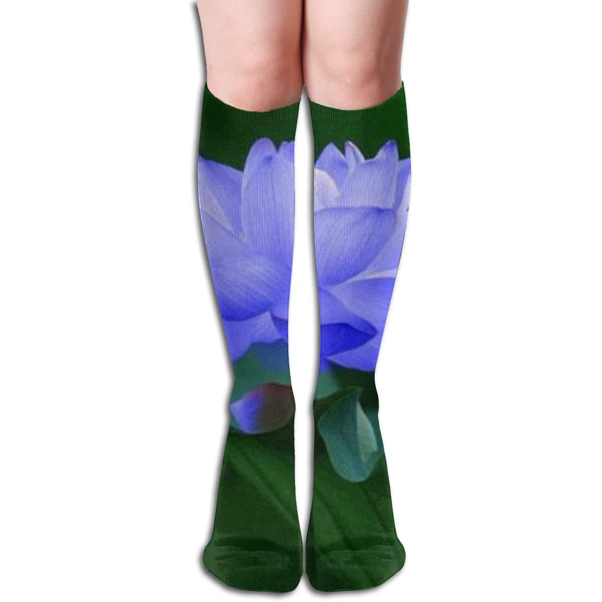 Girls Socks Mid-Calf Pop Girl Art Winter Hot For Holiday