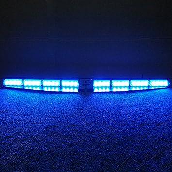 Amazon vsled 2 16 led 32 watt blue led light car truck vsled 2 16 led 32 watt blue led light car truck emergency beacon light bar aloadofball Image collections