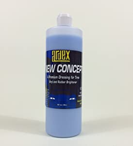 Tire and Trim Shine - Dash and Vinyl Dressing - Ardex New Concept 32 oz. - DIY Like The Pros