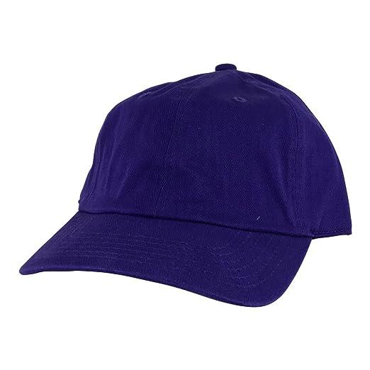 Plain Adjustable Cotton Dad Hat Unstructured Low Profile Baseball ... 2757fa6f42d