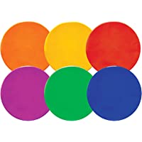 Champion Sports 10-inch Poly Spot Markers (Set of 6)