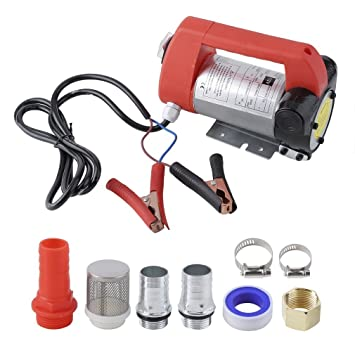 Bomba Gasóleo Aceite Fueloil 45 l/min 12 V 175 W Accesorios