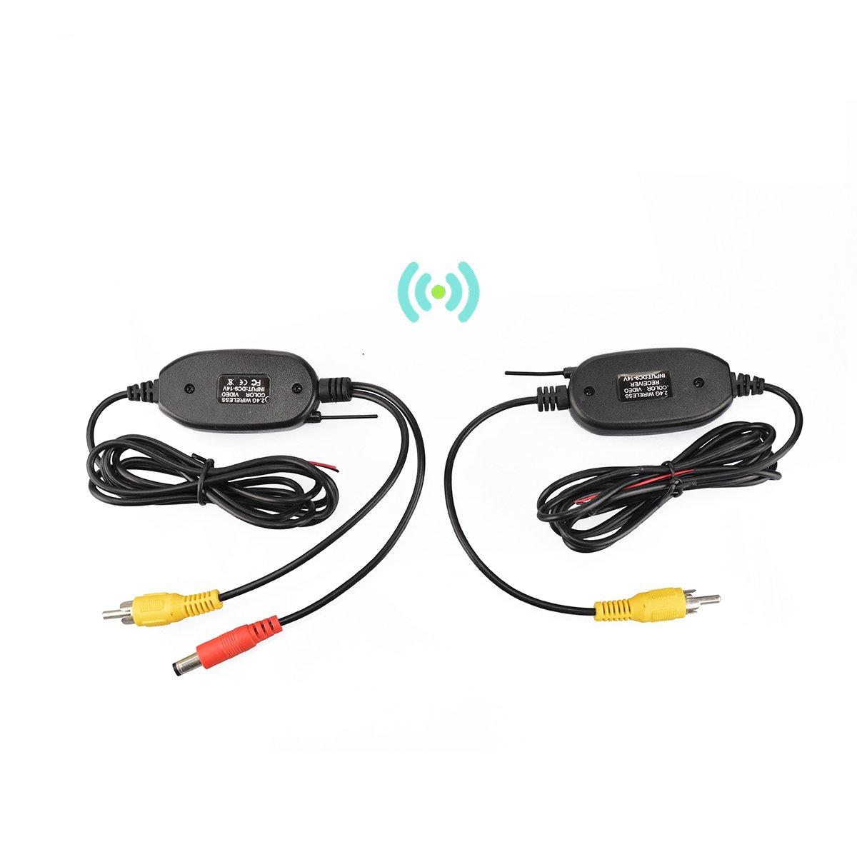 g transmisor y receptor sin hilos del vídeo del color de DIY