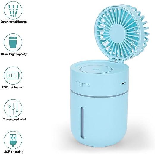 Vivi Bear Mini humidificador Ventilador atomización pequeño ...