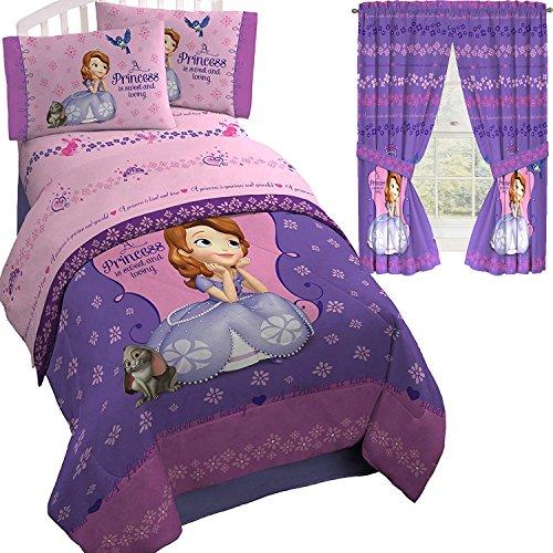 Sofia The First Princess Purple Twin/Full Comforter(72