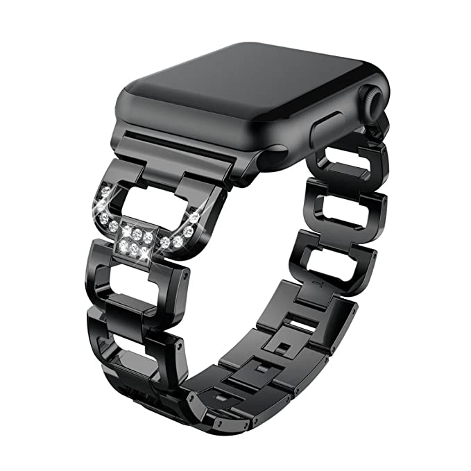 Kanzd Stainless Steel Bracelet Smart Watch Band Strap for Apple Watch Series 3 38MM/ 42MM