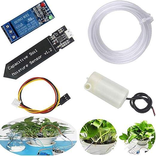 RUNCCI-YUN Sistema de Riego Automático DIY Kit para Arduino ...