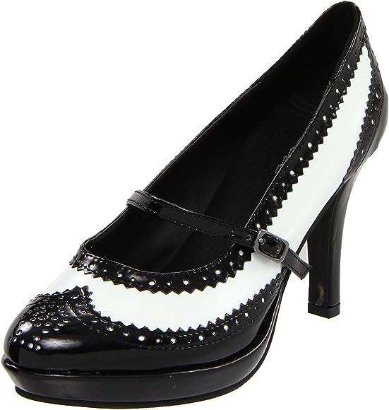Ellie Shoes Women's 414-flapper, Black
