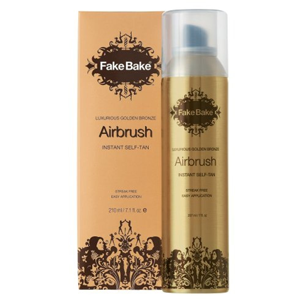 Fake Bake Luxurious Golden Bronze Airbrush Instant Self Tan 7.1 oz (210 ml) by AB