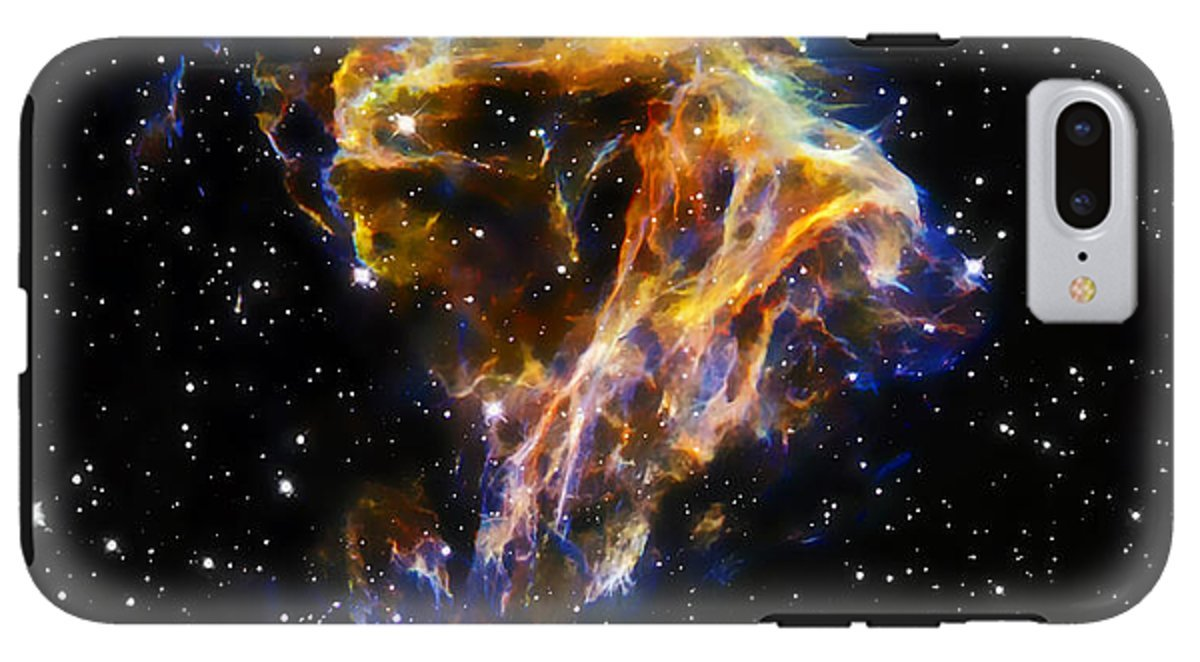 iPhone 8 Plus Case ''Cosmic Heart'' by Pixels