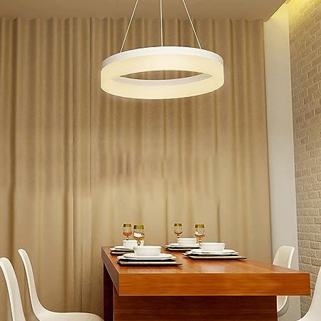 Amazon.com: LED, lámparas de araña, redondo, sala de estar ...