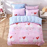 The autumn and winter 4 thick piece of bedding 1.8m/1.5 double bed linen