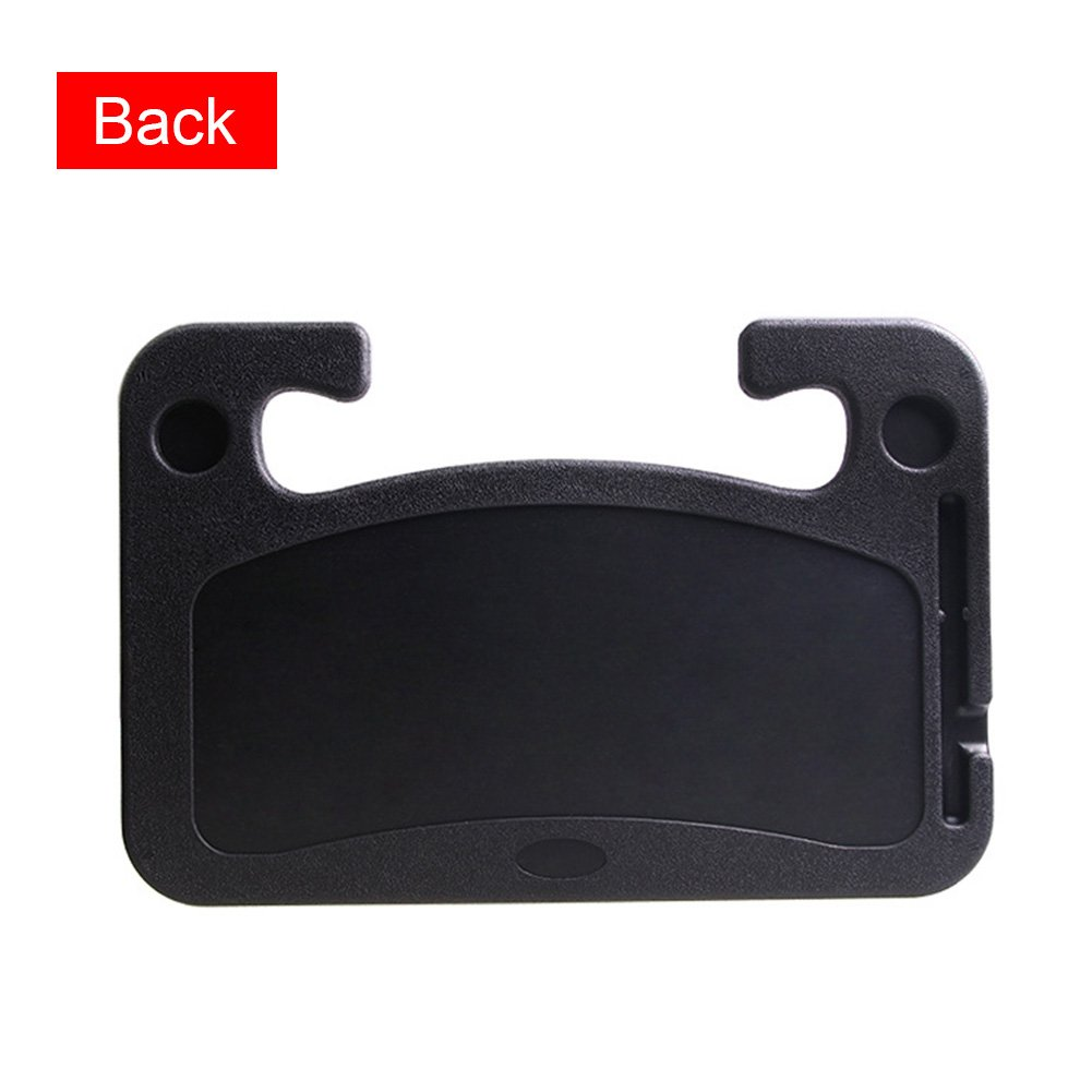 Abilieauty Portable Car Desk Laptop Computer Table Steering Wheel Eat Drink Work Holder Seat Tray Stand