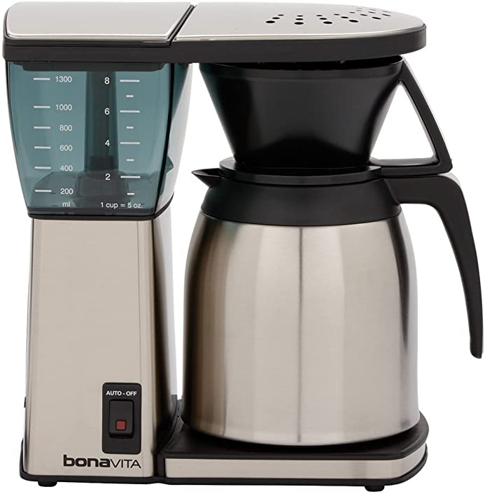 Bonavita BV1800TH 8-Cup Coffee Maker with Thermal Carafe