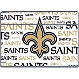 Skinit NFL New Orleans Saints Galaxy Book Keyboard Folio 12in Skin - New Orleans Saints Gold Blast Design - Ultra Thin, Lightweight Vinyl Decal Protection