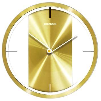 b9c2c3ebe5a Relógio De Parede Elegance com mecanismo silencioso Kienzle 30 cm (Dourado)