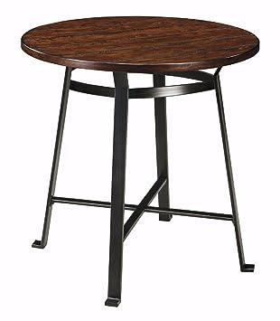 Elegant Ashley Furniture Signature Design   Challiman Dining Room Bar Table   Pub  Height   Round