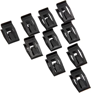 10Pcs Universal Auto Car Front Console Dash Dashboard Trim Metal  Retainer