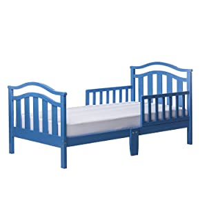 Dream On Me Elora Collection Toddler Bed, Wave Blue, 19 Pound
