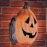 Pumpkin Porch Light Covers-Set of 2 - Halloween