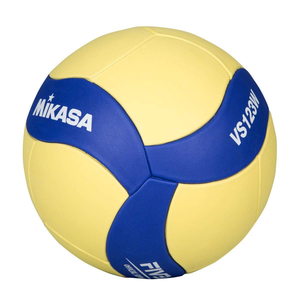 MIKASA VS123W,Blau//Gelb Volleyball Blau//Gelb