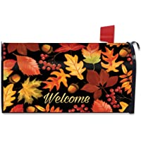 Briarwood Lane Fall Leaves Welcome Magnetic Mailbox Cover Autumn Standard