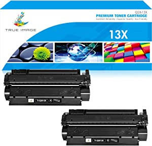 True Image Compatible Toner Cartridge Replacement for HP Q2613A C7115X C7115A Q2613X Laserjet 1300 1300N 3380 1150 1200 1200N 1220 3300 3330 13A 13X 15A 15X (Black, 2-Pack)